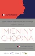 Imieniny Chopina w Muzeum UW, 5.03.2016 r.