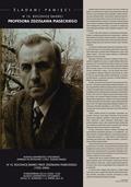 """Spotkanie pt. """"Śladami Pamięci w 10. rocznicę śmierci Profesora Zdzisława Piaseckiego (1932–2006)"""" w Muzeum Uniwersytetu Opolskiego, 18.10.2016"""