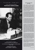 Spotkanie w 30. rocznicę śmierci Profesora Henryka Borka (1929–1986) w Muzeum Uniwersytetu Opolskiego, 7.12.2016