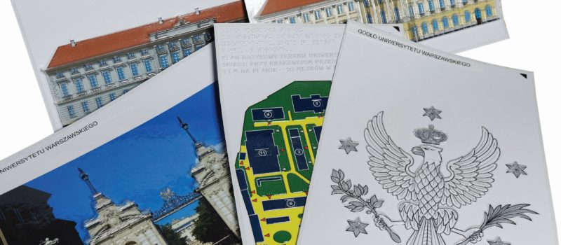Ścieżka edukacyjna dla osób niewidomych i słabowidzących na Uniwersytecie Warszawskim