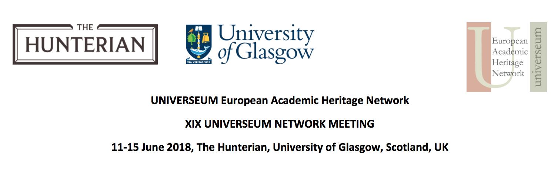 Konferencja Universeum w Glasgow, 13-15.06.2018