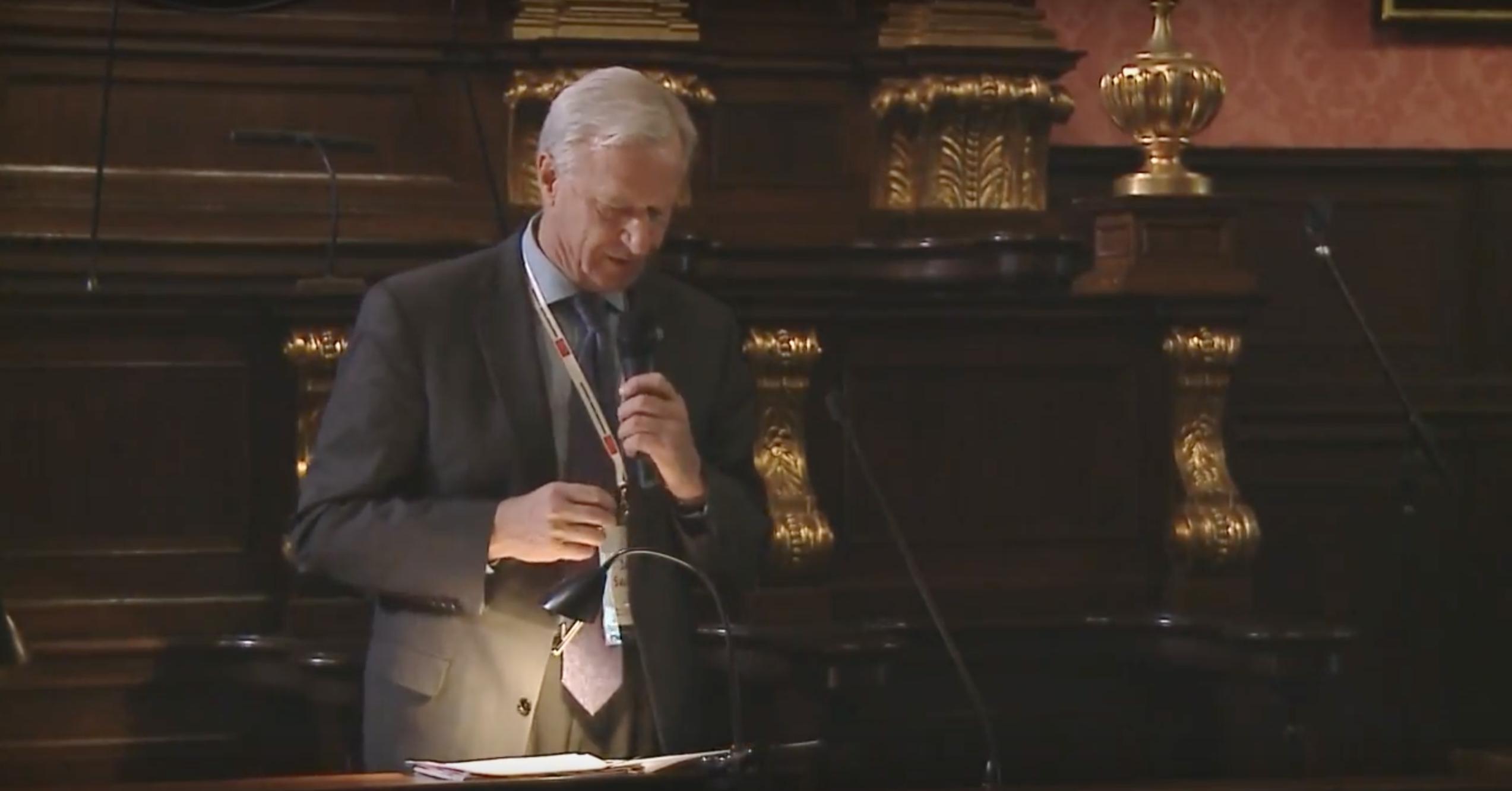 """Wystąpienie prof. Jana Święcha na konferencji """"Tożsamość i dziedzictwo. Muzea Uczelniane"""""""