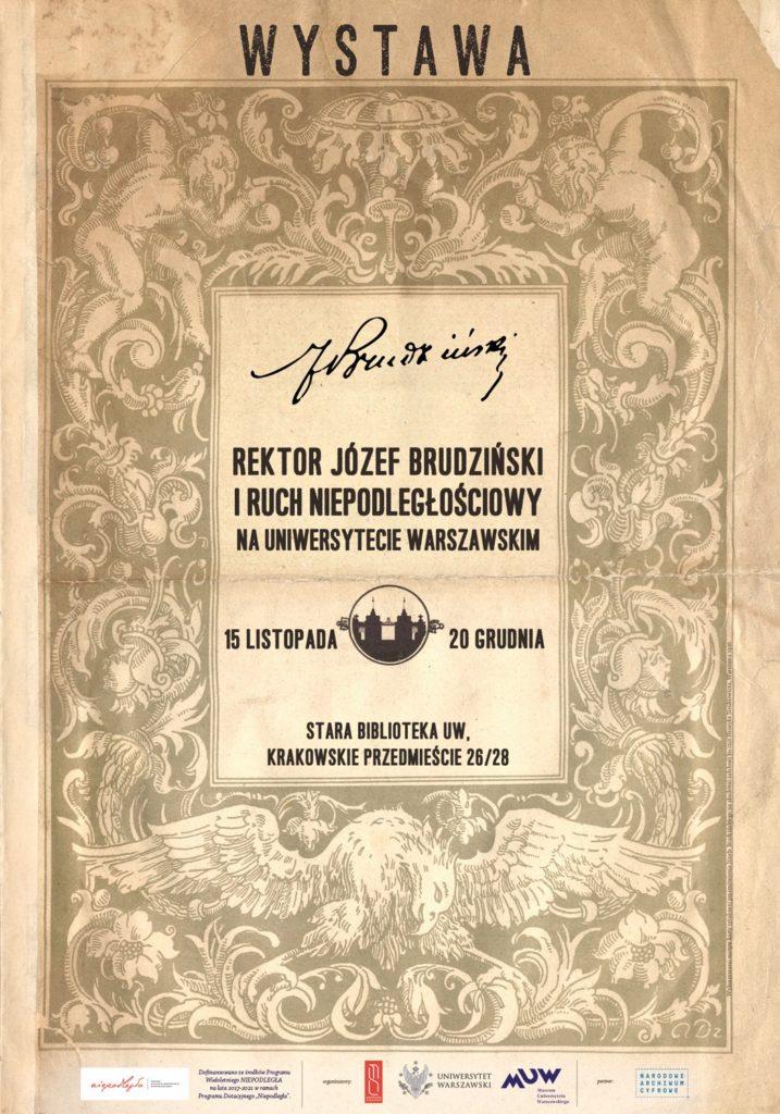 plakat brudziński