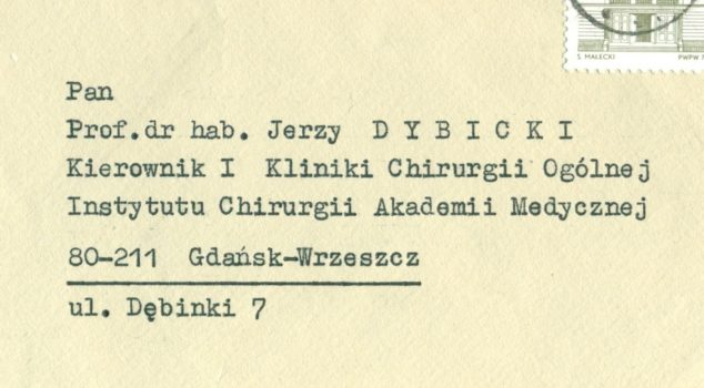 Z muzealnej półki. | Muzeum Gdańskiego Uniwersytetu Medycznego