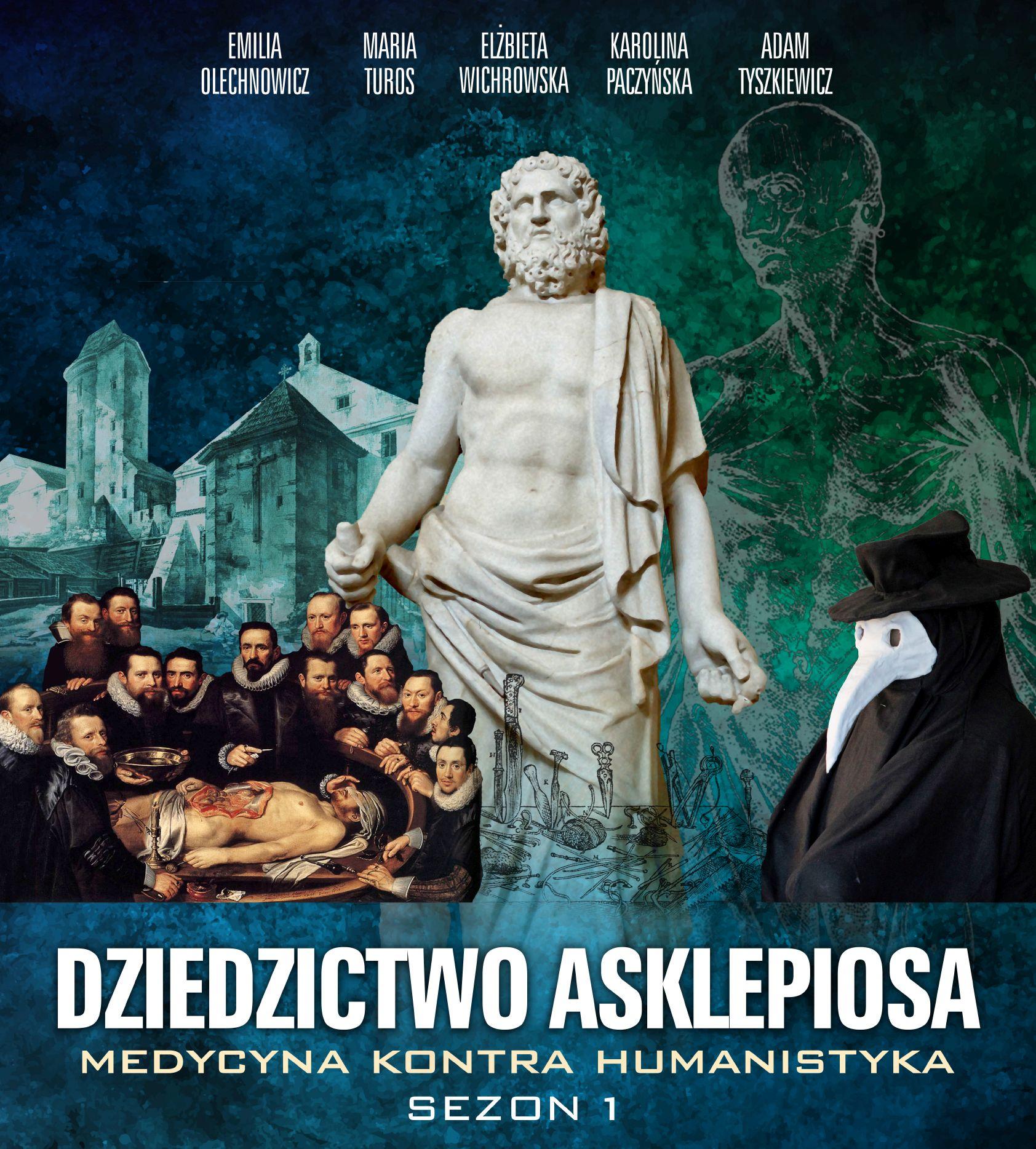 """""""Dziedzictwo Asklepiosa. Medycyna kontra Humanistyka"""" – cykl wydarzeń muzealnych"""