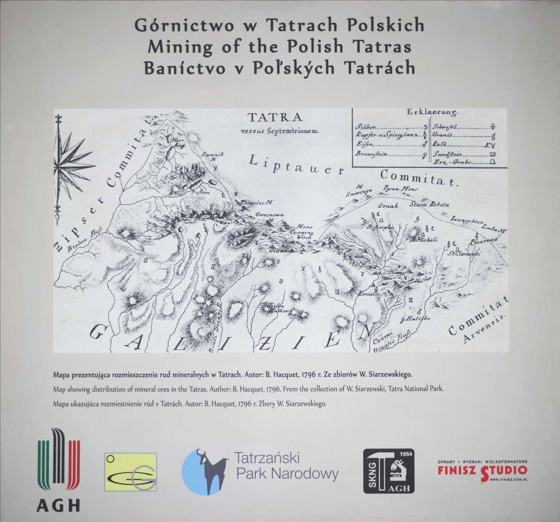 Górnictwo w Tatrach Polskich – wystawa w Muzeum Geologicznym im. S. J. Thugutta UW