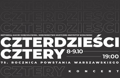 Koncert w Hybrydach upamiętniający 75. rocznicę Powstania Warszawskiego