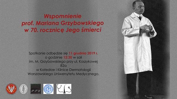 Spotkanie poświęcone pamięci prof. Mariana Grzybowskiego