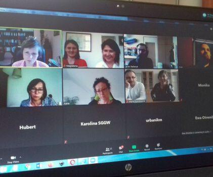 Spotkanie on-line członków Stowarzyszenia Muzeów Uczelnianych