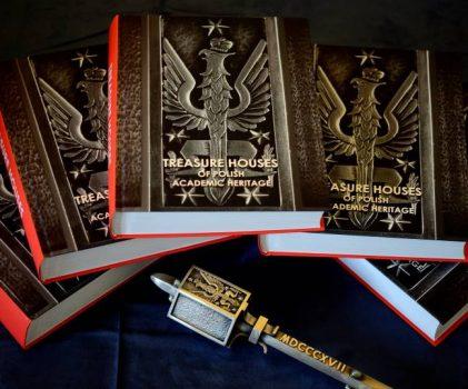 "Katalog ""Treasure Houses of Polish Academic Heritage"" NAGRODZONY!"