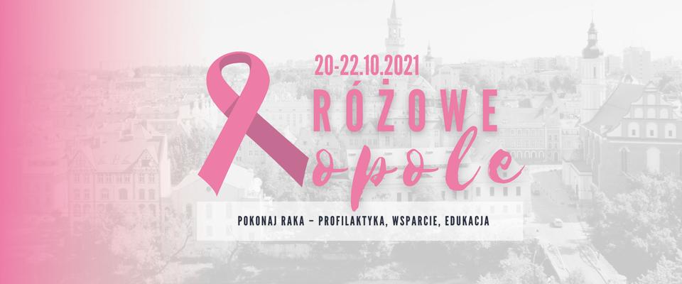 Różowe Opole. Pokonaj raka – profilaktyka, wsparcie, edukacja